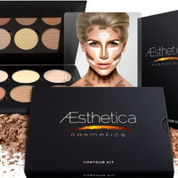 Aesthetica Contour & Highlighting Foundation Palette Contouring Makeup Kit Easy to Follow, Step-by-Step Instructions Beauty