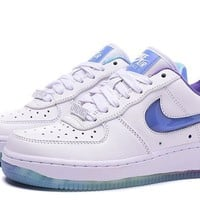 Nike Air Force 1 Low Lv8 Qs Northern Lights 2018 For Women Men Running Sport Casual Shoes Sneakers