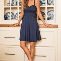 Just As Swell Dress, Navy