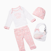 layette's four-piece gift box