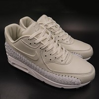 Trendsetter   Nike Air Max 90 Woven  Women Men Fashion Casual Sneakers Sport Shoes