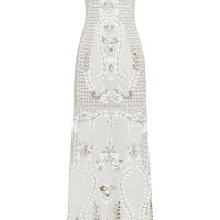 Needle & Thread - Embellished georgette gown