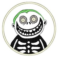 """Patch Craft - Boogie's Boys - Barrel (3.9"""" Round Iron-on patch)"""