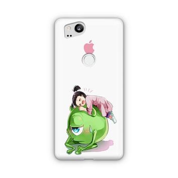 Monster Inc Cute Mike And Boo Google Pixel 3 XL Case | Casefantasy