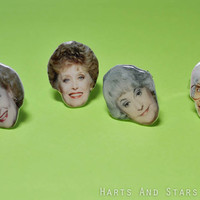 Golden Girls Thick Band Ring-Choose Your Girl-