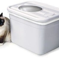 Clevercat Top Entry No Mess Cat Litter Box
