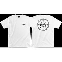 Creature Runes Tee Small White