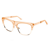 The J's Gold Clear Lens Reader Glasses