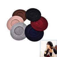 Plain Beret Hat French Beret Winter Autumn Women | Girls Fashion Hats HU