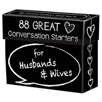 Conversation Starters For Husbands & Wives Interactive Game