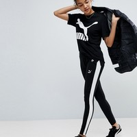 Puma Classics Logo T7 Leggings at asos.com