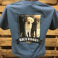 Backwoods Born & Raised Lab Dog Bright Unisex T Shirt