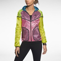 Nike Tech Windrunner Women's Jacket - Laser Crimson