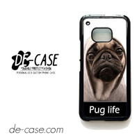 New Design Funny Hilarious Pug Life Parody Fans For HTC One M9 Case Phone Case Gift Present