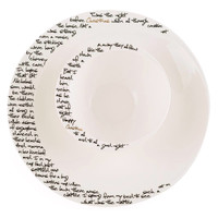 'Twas The Night Before Christmas Bowl & Charger Plate Set