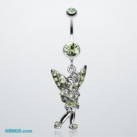 Tinker Bell Sparkle Belly Ring