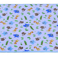 Toddler Waterproof Washable Diaper Changing Mat Pad-Monkey - 50*70Cm