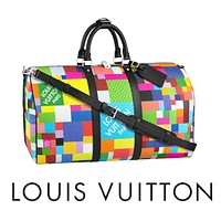 LV Louis Vuitton 2021 new large-capacity travel bag