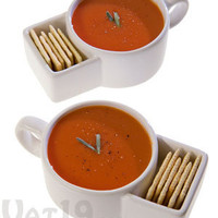 Soup & Cracker Mugs