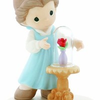 """Precious Moments Disney """"Our Love Is Forever In Bloom"""" Figurine"""