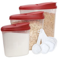 Sure Fresh 10-Piece Dry Food Storage Sets with Measuring Cups at Deals