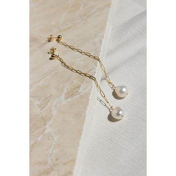 Brisbane Pearl Earrings - Christine Elizabeth Jewelry