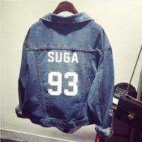 KPOP BTS Bangtan Boys Army   Boys  Jeans Hoodies Denim Women Sweatshirt Polo Harajuku Jacket Jimin Tracksuit Suga Jungkook V Jin Clothes AT_89_10