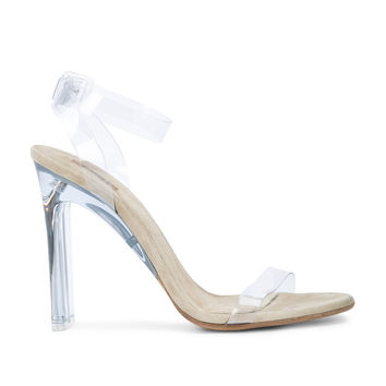 Yeezy PVC Sandals - Clear Leather Sandals