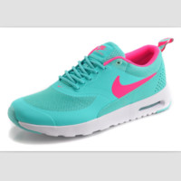 NIKE trend of fashion leisure sports shoes Green red