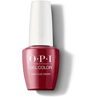 OPI GelColor - Chick Flick Cherry 0.5 oz - #GCH02