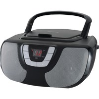 Sylvania Portable Cd Radio Boom Box (black)