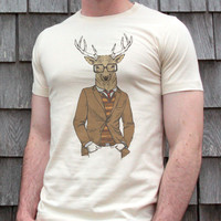 Serious Deer T-shirt