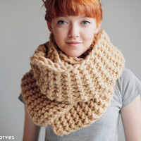 Oversized knit scarf,  Long simple scarves,  chunky scarf, HAND MADE, soft and cozy, big wool scarf for women