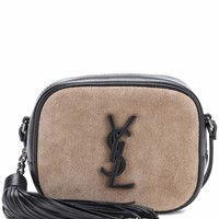 Classic Monogram suede crossbody bag