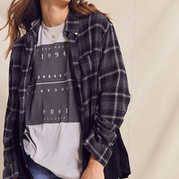 Urban Renewal Recycled Dip Dye Flannel Shirt | Urban Outfitters