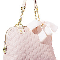BetseyJohnson.com - ONE AND ONLY NOW DOME BAG PINK