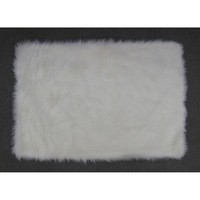 Fun Rugs Flokati Collection White Area Rug