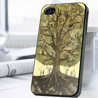 iPhone case,Samsung Galaxy,Cover,Skin,iPod Touch,Galaxy Note2/3,Trends,October,November,Winter-17914,15,Painting,cartoon,classic,of,Tree