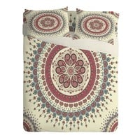 Belle13 Paisley Mandala Love Sheet Set Lightweight