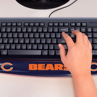 FANMATS Chicago Bears Computer Keyboard Gel Pad Wrist Rest Support