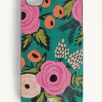 OOS Spanish Rose Slim Iphone 4 Case By Rifle Paper Co.   Ruche