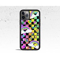 Pop Art Checkered Phone Case for Apple iPhone