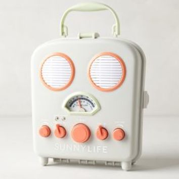 Sunny Life Beach Radio by Anthropologie