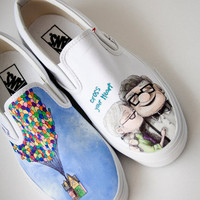 Custom Painted Up Shoes