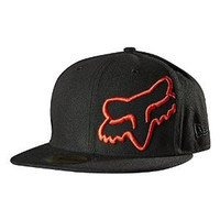 "Fox Racing Thunderous 59Fifty Hat - 7-3/4""/Black"