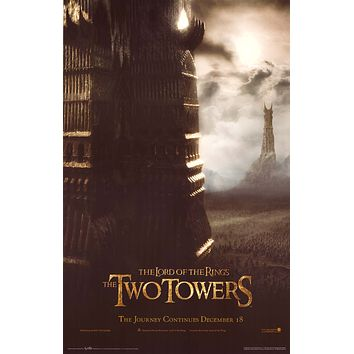 Lord of the Rings: The Two Towers 22x34