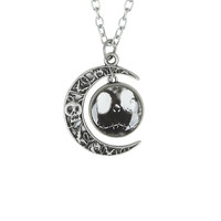 The Nightmare Before Christmas Jack Moon Pendant Necklace