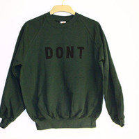 Dont Clothing Army Jumper