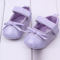 Classic English Style Baby Girls Shoes