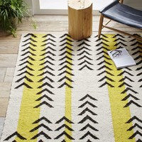 Arrow Stripe Dhurrie Rug